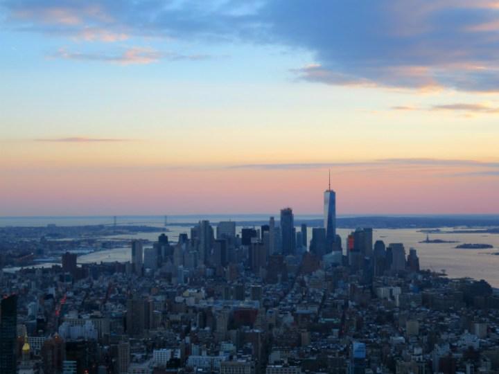 סיוון סטרומזה, חיפוש עבודה, אופטימיות, ניו יורק, טיול לארהב, אמפייר סטייס, נוף