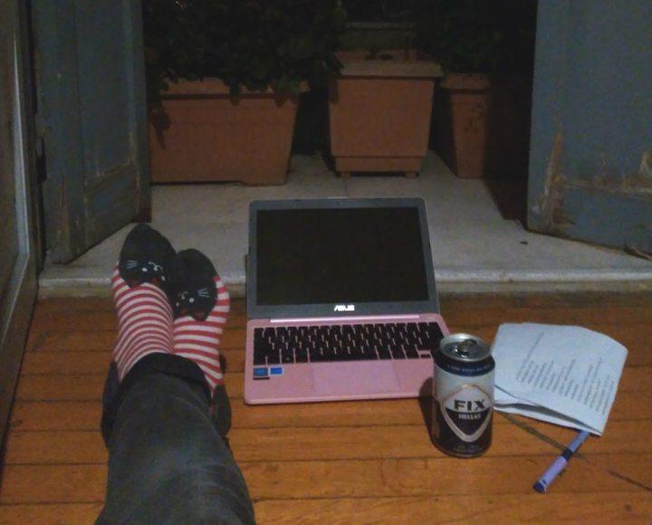 לטייל לבד, טיול לבד, עבודה מהבית, חופשה באתונה