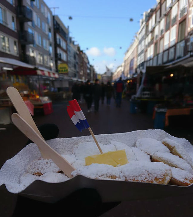 שוק אלברט קאופ, טיסות לאמסטרדם, אוכל רחוב, albert cuyp market, amsterdam foodies